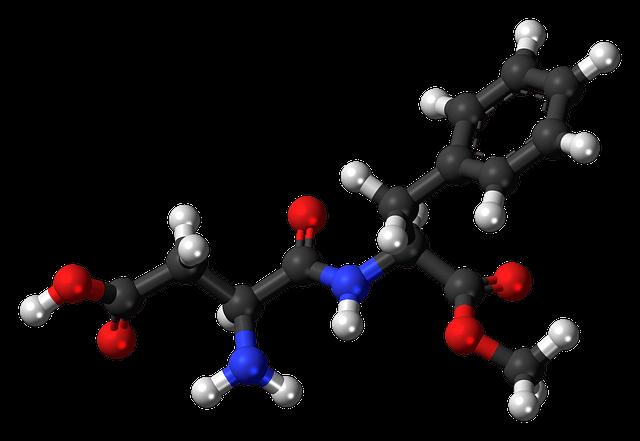 aspartame-sweetener-molecule