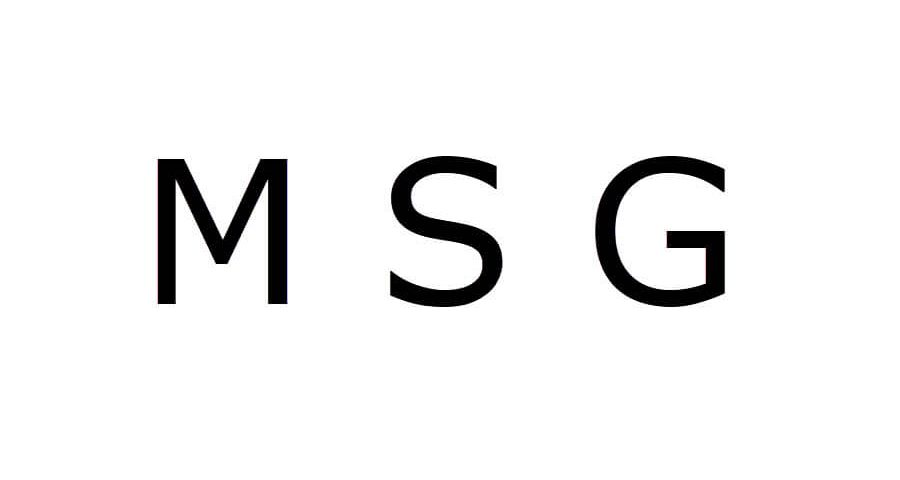 what is msg